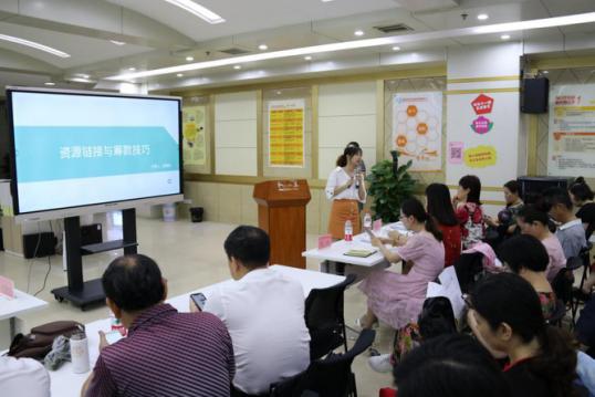 市社会组织发展中心第四、五期社会组织能力培训顺利举办
