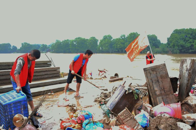 抗洪救灾-社会组织在行动(三)团结就是力量,全市116家社会组织万众一心奔赴抗洪救灾行动